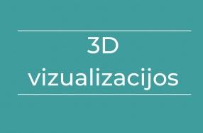 3D vizualizacijos