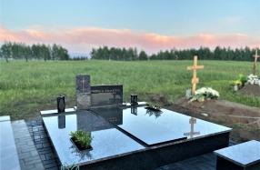 Dengimas Kareliško juodo ir Oreon granito plokštėmis