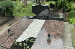 Dengimas plokštėmis Jeruzalės kapinėse