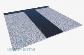 Granito plokščių komplektas
