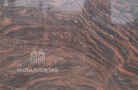 Granito plytelės Multicolor Red 600x300x10mm
