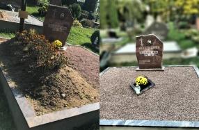 Kapavietės sutvarkymas po laidotuvių