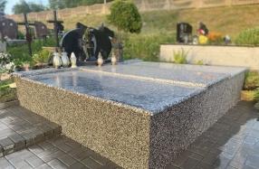 Kapo dengimas granito plokščių komplektu