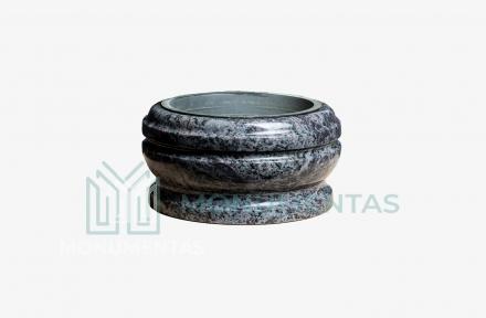 Melsvo granito vazonas V29