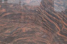 Multicolor red granito plokštė
