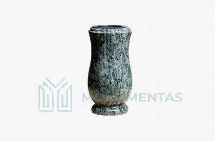 Žalsvo granito vaza V20